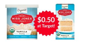 Target: Miss Jones Baking Mix and Frosting Only $0.50 Each!