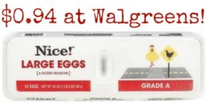 Walgreens: Nice! Eggs Only $0.94!
