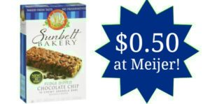 Meijer: Sunbelt Granola Bars Only $0.50!
