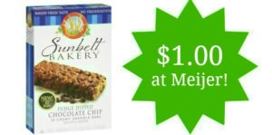 Meijer: Sunbelt Granola Bars Only $1.00!