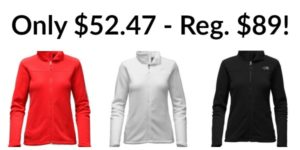 The North Face Women's Khumbu Full-Zip Jacket – $52.47! (reg. $89)