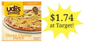 Target: Udi's Gluten Free Pizza Only $1.74!