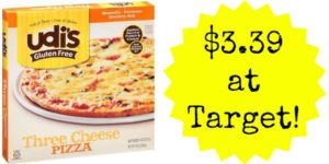 Target: Udi's Gluten Free Pizza Only $3.39!