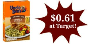 Target: Uncle Ben's Rice Only $0.61!