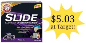 Target: Arm & Hammer Slide Litter 19 lbs Only $5.03!