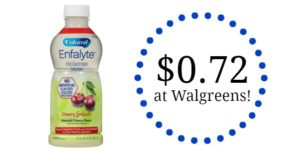 Walgreens: Enfalyte Oral Electrolyte Solution Only $0.72!