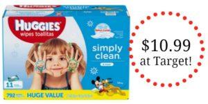 Target: Huggies Simply Clean Wipes 11pk Only $10.99!