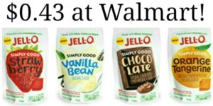 Walmart: Jell-O Simply Good Only $0.43!
