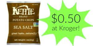 Kroger: Kettle Brand Chips Only $0.50!