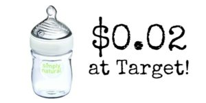 Target: NUK Simply Natural Single Bottle Only $0.02!