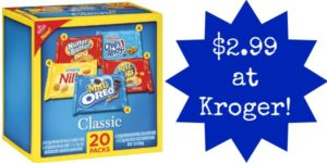 Kroger: Nabisco Multi Pack Snacks Only $2.99!