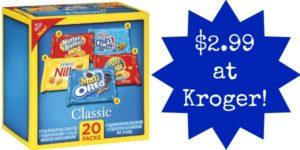 Kroger: Nabisco Multi Pack Snacks Only $2.99!
