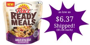 Pace Ready Meals 6-Pack as low as $6.37 Shipped! ($1.06 each)