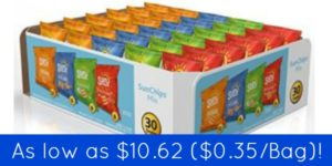 Sunchips Variety Pack 30-Count as low as $10.62 ($0.35/bag)!