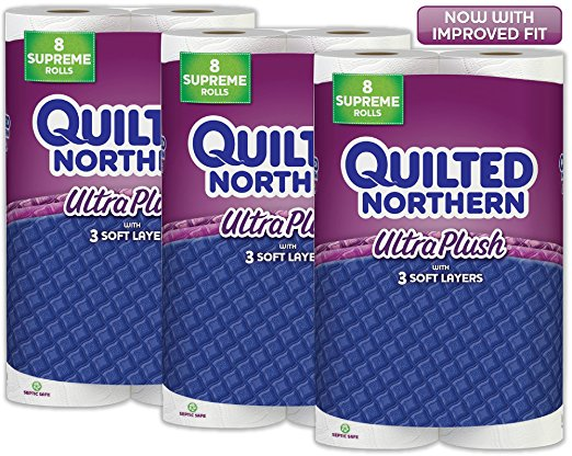 Quilted Northern Ultra Plush Toilet Paper As Low As 0 16