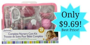 Summer Infant Complete Nursery Care Kit Only $9.69 – lowest price! (Great Baby Shower Gift!)