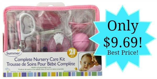 Summer Infant Complete Nursery Care Kit