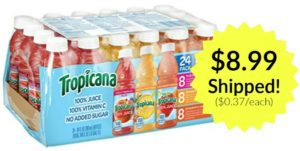 Tropicana Variety Pack, 24-count as low as $8.99 Shipped! ($0.37 each)