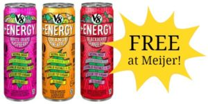 FREE V8 + Energy Drink at Meijer!