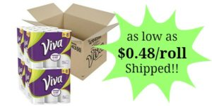 Viva Choose-a-Sheet Paper Towels, Big Plus Roll 24-Count as low as $15.28!