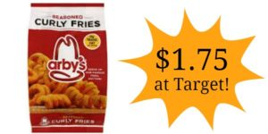 Target: Arby's Seasoned Curly Fries Only $1.75!