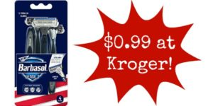 Kroger: Barbasol Razors Only $0.99!
