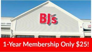 BJ's Inner Circle Membership Only $25!