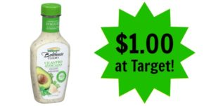 Target: Bolthouse Farms Salad Dressing Only $1.00!