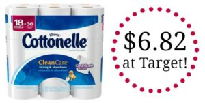 Target: Cottonelle Bath Tissue Only $0.19/Roll!
