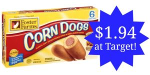 Target: Foster Farms Corn Dogs as low as $1.94!