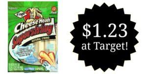 Target: Frigo String Cheese Only $1.23!