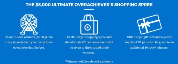 g2 overachievers club giveaway