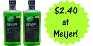 Meijer: Irish Spring Body Wash Only $2.40!