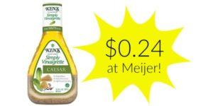Meijer: Ken's Salad Dressing Only $0.24!