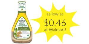 Walmart: Ken's Salad Dressing Only $0.46!