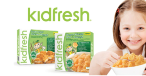 Save $1 on Kidfresh Frozen Meals during Frozen Food Month!