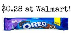 Walmart: Milka Oreo Bar as low as $0.28!