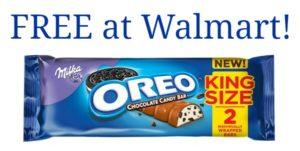 FREE Milka Oreo King Size Bar at Walmart!