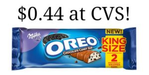 CVS: King Size Milka Oreo Candy Bars Only $0.44!