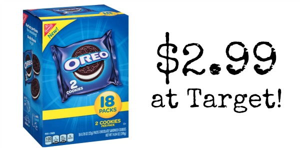 Target: Nabisco Oreo Multipack Only $2.99!
