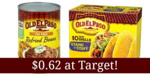 Target: Old El Paso Products Only $0.62!