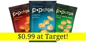 Target: PopChips Only $0.99!