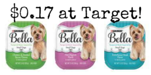 Target: Purina Bella Dog Food Trays Only $0.17!