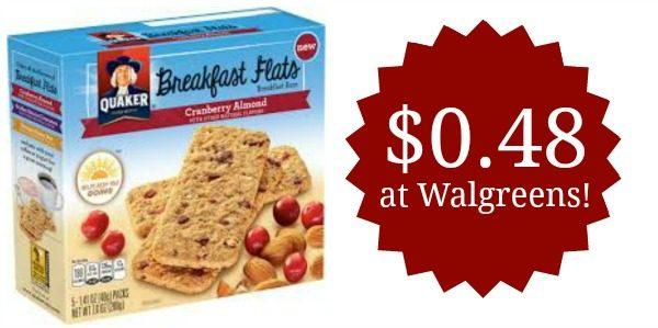 Quaker Breakfast Flats Coupons