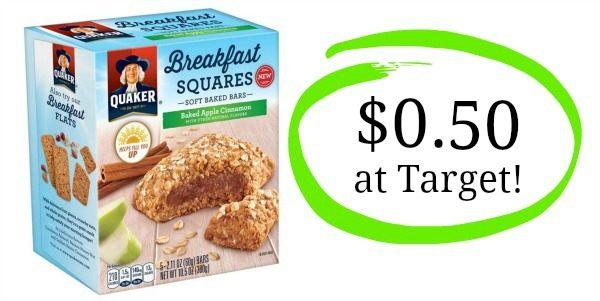 quaker breakfast squares