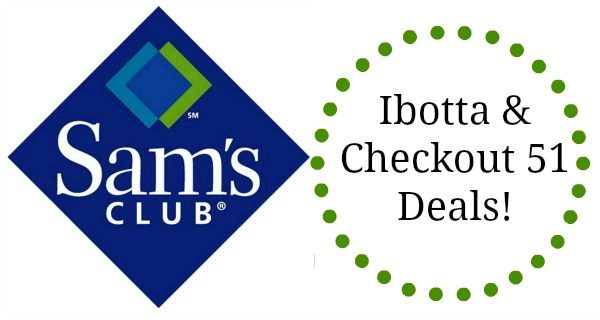 sam's club ibotta and checkout 51 deals