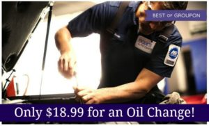 Sears Auto Center Oil Change as low as $18.99!