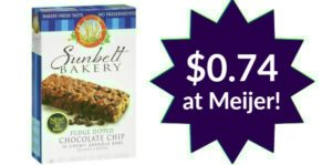 Meijer: Sunbelt Granola Bars Only $0.74!
