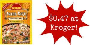 Kroger: Sunbird Seasoning Packets Only $0.47!
