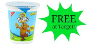 FREE Teddy Grahams Go Pak at Target!